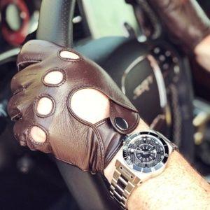 Hydrogen Sportivo Silver Link Men's Watch